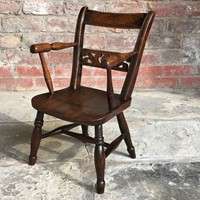 Late 18th Century Welsh Child's Armchair