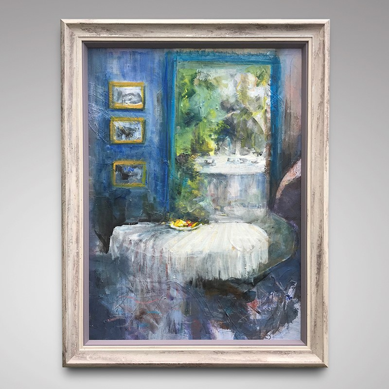"""View from the Blue Room"" Oil on Canvas -hobson-may-collection-img-4507-main-637355276569278763.jpg"