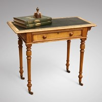 Aesthetic Movement Writing Table by Robson & Son