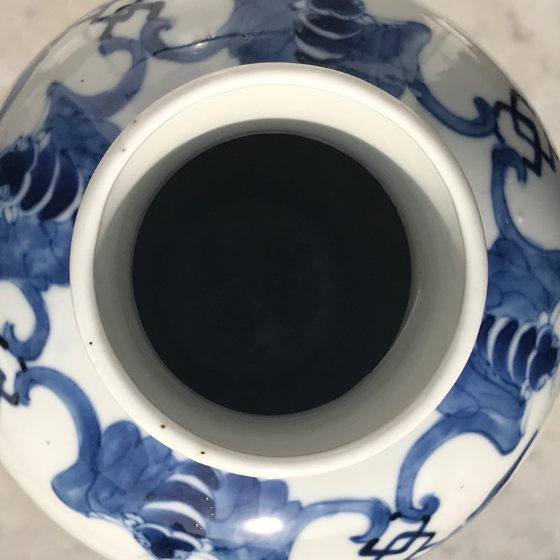 19th Century Chinese Blue & White Baluster Vase & -hobson-may-collection-img-5159-main-636862633278227902.jpg