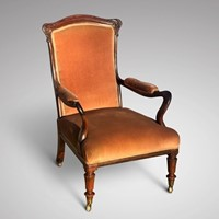 William IV Rosewood Armchair