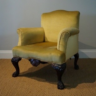 Antique Gainsborough Style Armchair