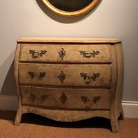 A Swedish Painted Chest