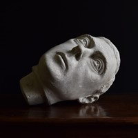 Fine Sculpted Plaster Head of King George VI