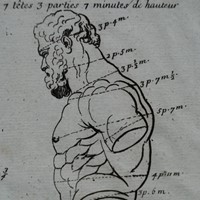 "3 prints of the ""Farnese Hercules"""