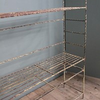 French 19ct Wrought iron  bakers bread rack