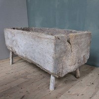 18ct wooden  bakers dough trough