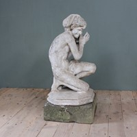 Fisher boy by Jean-Baptiste Carpeaux