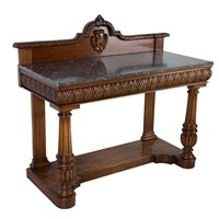 Geo IV Mahogany Althorp Hall Console Table