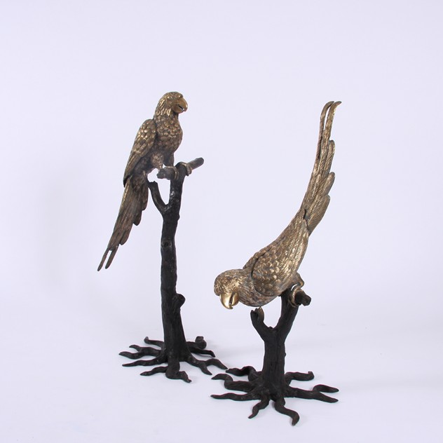 Pair of Painted Brass Parrot Sculptures-james-worrall-DEC03171582a_main_636390017899224465.jpg