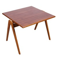 Hillestak Table, designed by Robin Day for Hille