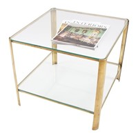 Jacques Quinet Square Side Table