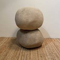 2 Italian Floor Lamps in the Form of Faux Rocks