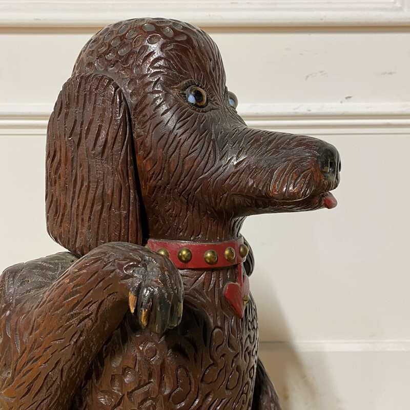 Tall Wooden Sculpture of a Poodle-jill-palmer-antiques-img-0318-main-637468228551864964.jpg