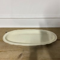 Very Large Creamware Platter