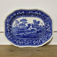 Blue and White Export Platter