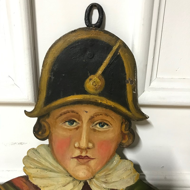 Large Double Sided Painted Metal Jester Sign-jill-palmer-antques-img-0110-main-637317321874970189.jpg