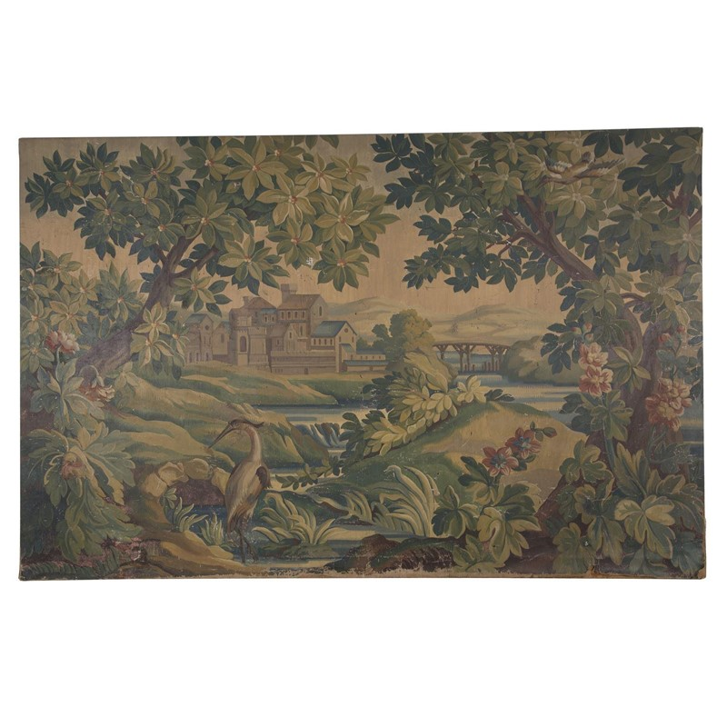 A Massive Tapestry Cartoon Painting on Canvas-jill-palmer-antques-tumbnail-b48f65c2-6e58-466a-8d15-cd80aaae737d-main-637317330832252719.jpg