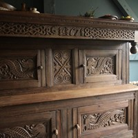 Westmorland country marriage cupboard