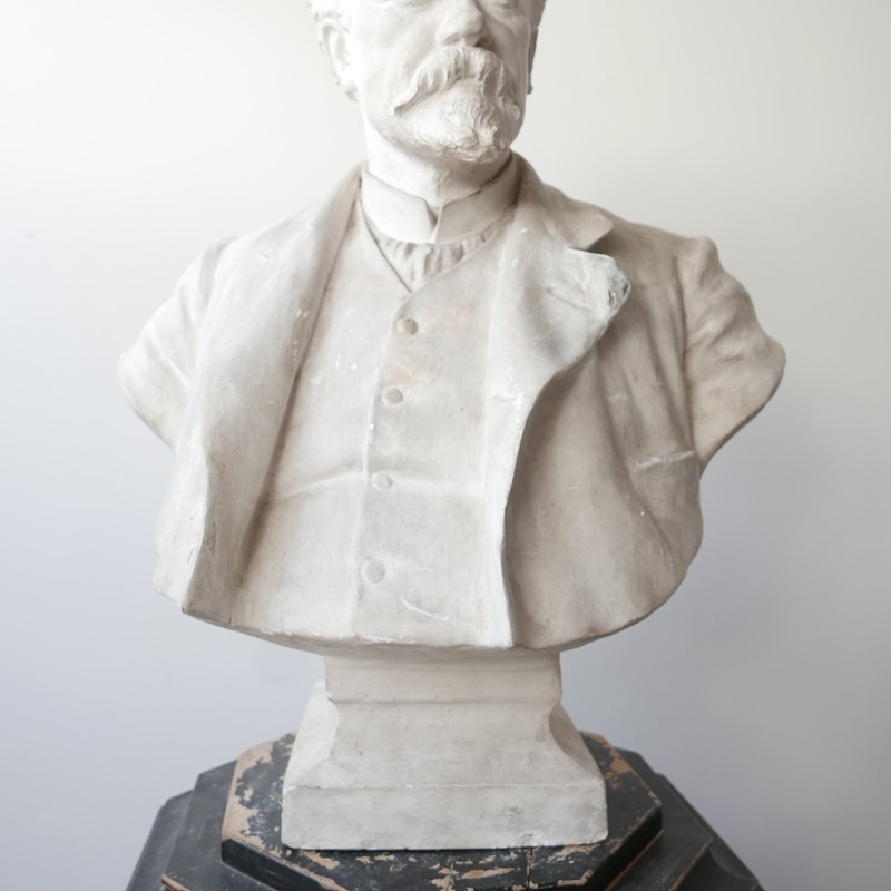 20th Century Plaster Bust of a Gentlemen-joseph-berry-interiors-img-2111-main-637317916873606161.JPG
