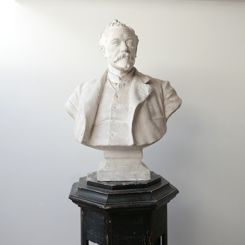 20th Century Plaster Bust of a Gentlemen-joseph-berry-interiors-img-2113-1-main-637317916878762144.JPG