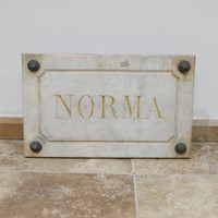 Marble Horse Name Plaques Bianca/Norma/Cobb
