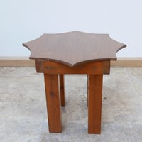 Post Modern Mid-Century Star Side Table