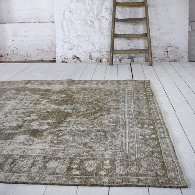 Faded vintage Tabriz carpet, grey and white-joshua-lumley-contemporary-Detail 1-3_main_636559716285397219.jpg