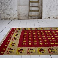 Stylish mid 20th century Balkan kilim