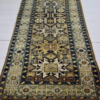 Caucasian Shirvan runner of Lesghi design