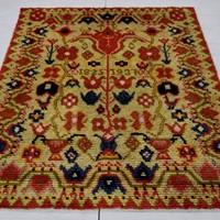 Finnish Rya rug dated 1937