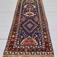 early Karadja runner, Persia, 1st half 19th C