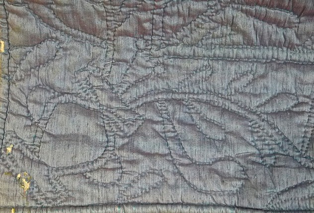 Blue Silk Quilt with Linen Reverse French 19thC-katharine-pole-blu silk quilt damage_main_636557034406844152.jpg