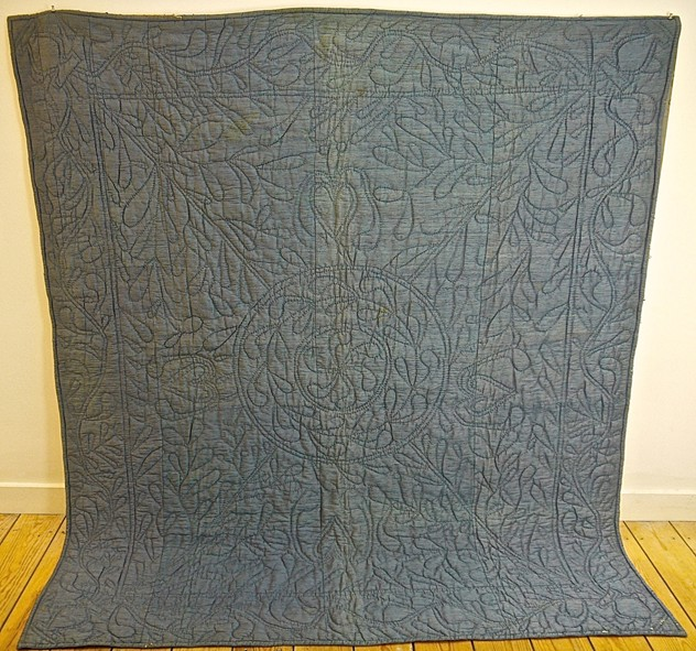 Blue Silk Quilt with Linen Reverse French 19thC-katharine-pole-blue silk quilt main 1a_main_636557032162513064.jpg