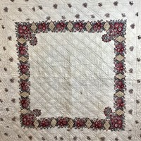 Fichu Coton Quilt French 18th Century