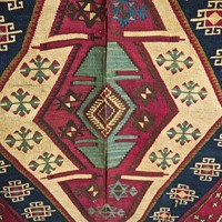 Pair of Kilim Panels Anatolian Late 19th Century