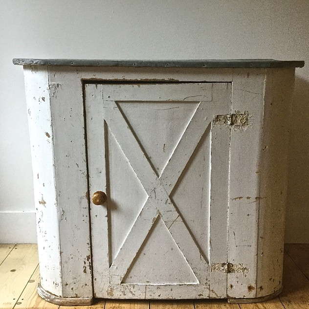 Zinc Top Painted Cupboard Swedish 19th Century -katharine-pole-swedish cupboard main sq_main_636450096183971713.jpg