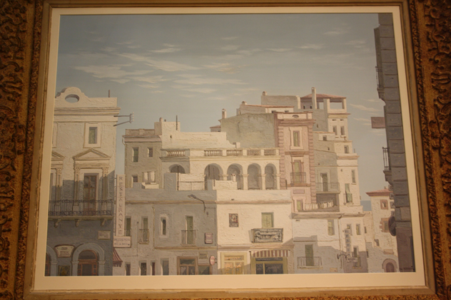 Framed oil of Havana, Cuba, c1950-kiki-design-Havana picture - 3_main.jpg