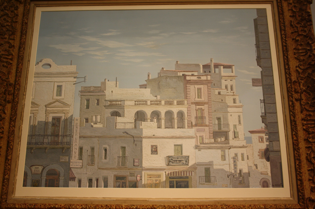 Framed oil of Havana, Cuba, c1950-kiki-design-Havana picture - 5_main.jpg