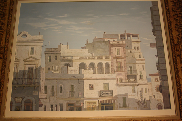 Framed oil of Havana, Cuba, c1950-kiki-design-Havana picture - 6_main.jpg