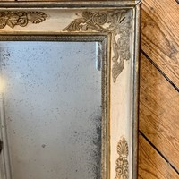 Small cream Empire mirror
