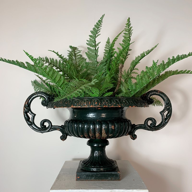19th C French Cast Iron Urn With Decorative Handle-lct-home-french-cast-urn-1-main-637151272302832534.jpg