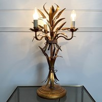 Hans Kogl Wheat Sheaf Table Lamp, 1970's