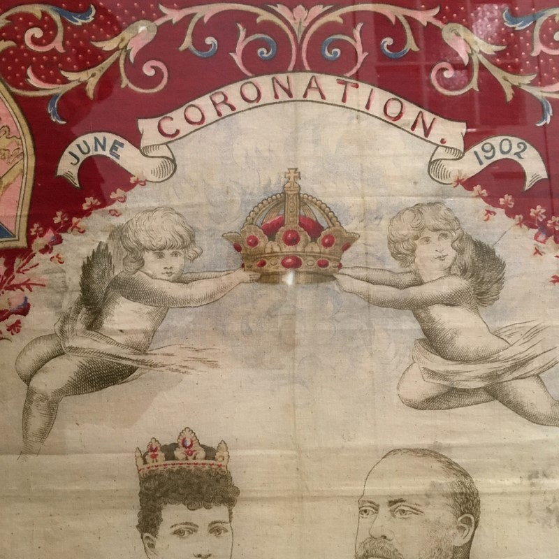 King Edward VII Coronation, June 1902 Framed Scarf-lct-home-img-1830-main-636868792710591349.jpg