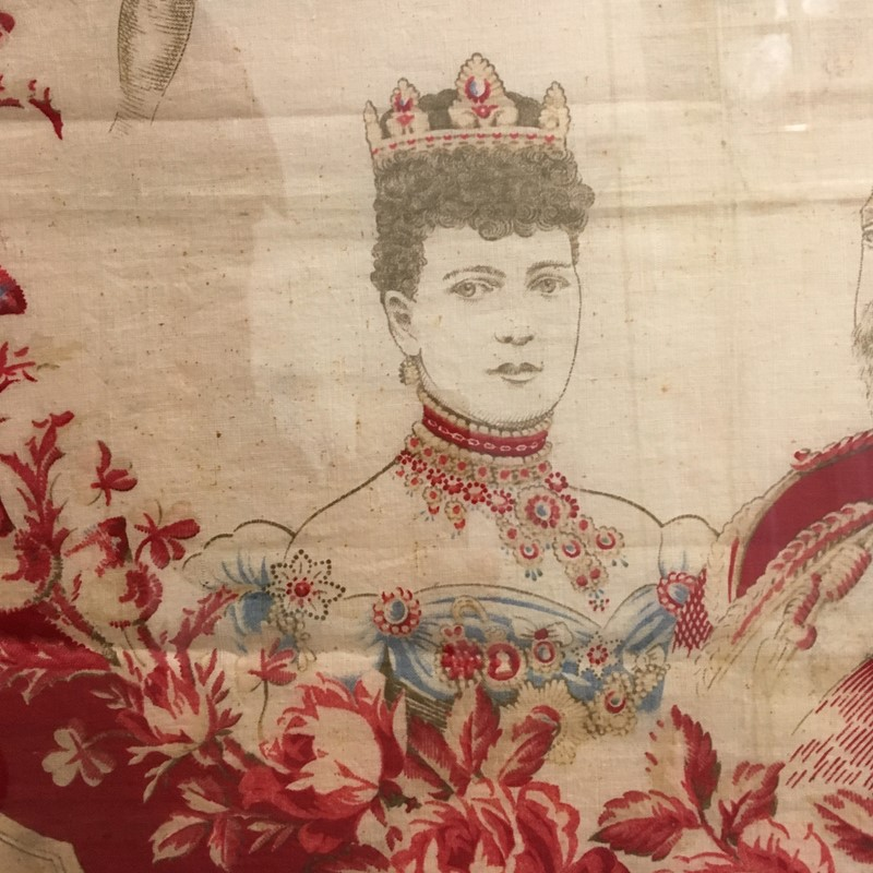 King Edward VII Coronation, June 1902 Framed Scarf-lct-home-img-1835-main-636868792722466384.jpg
