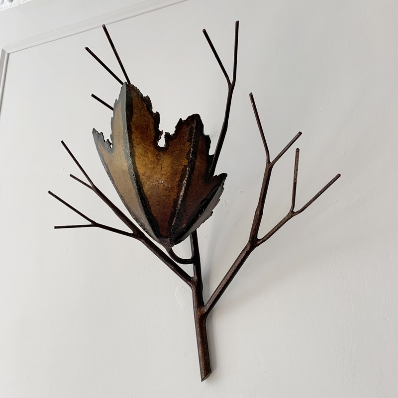 Brutalist Copper Leaf & Branch Wall Sconce-lct-home-img-3985-main-637260921544745343.jpg