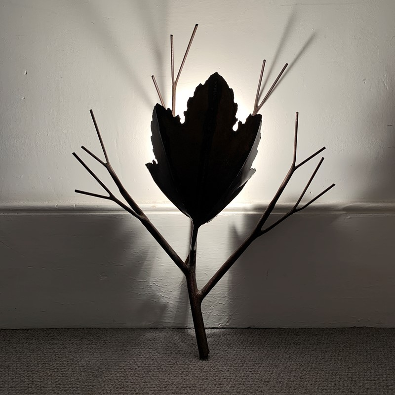 Brutalist Copper Leaf & Branch Wall Sconce-lct-home-img-4003-main-637260921838493873.jpg