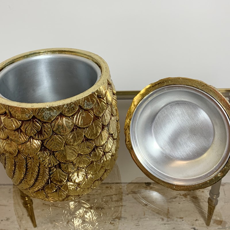 Gold Mauro Manetti Duck Ice Bucket, 1960'S-lct-home-img-4522-main-637275736013984104.jpg