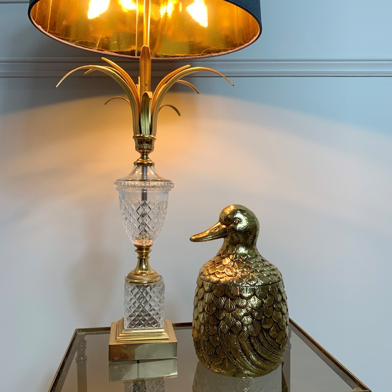 Gold Mauro Manetti Duck Ice Bucket, 1960'S-lct-home-img-4534-main-637275736194456289.jpg