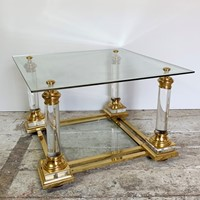 Maison Charles Lucite Coffee Table 1950'S